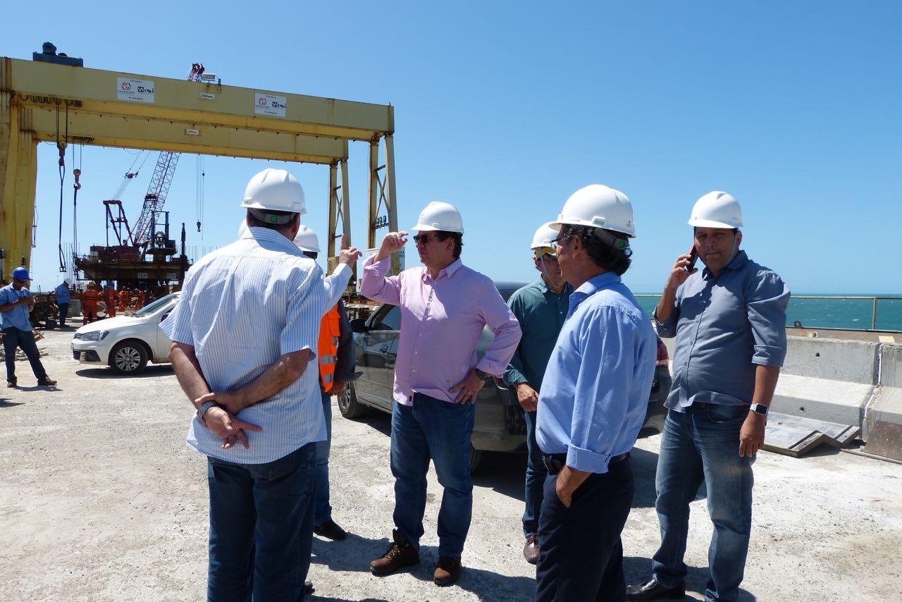 Secretário Lucio Gomes vistoria obras em Fortaleza e na Região Metropolitana