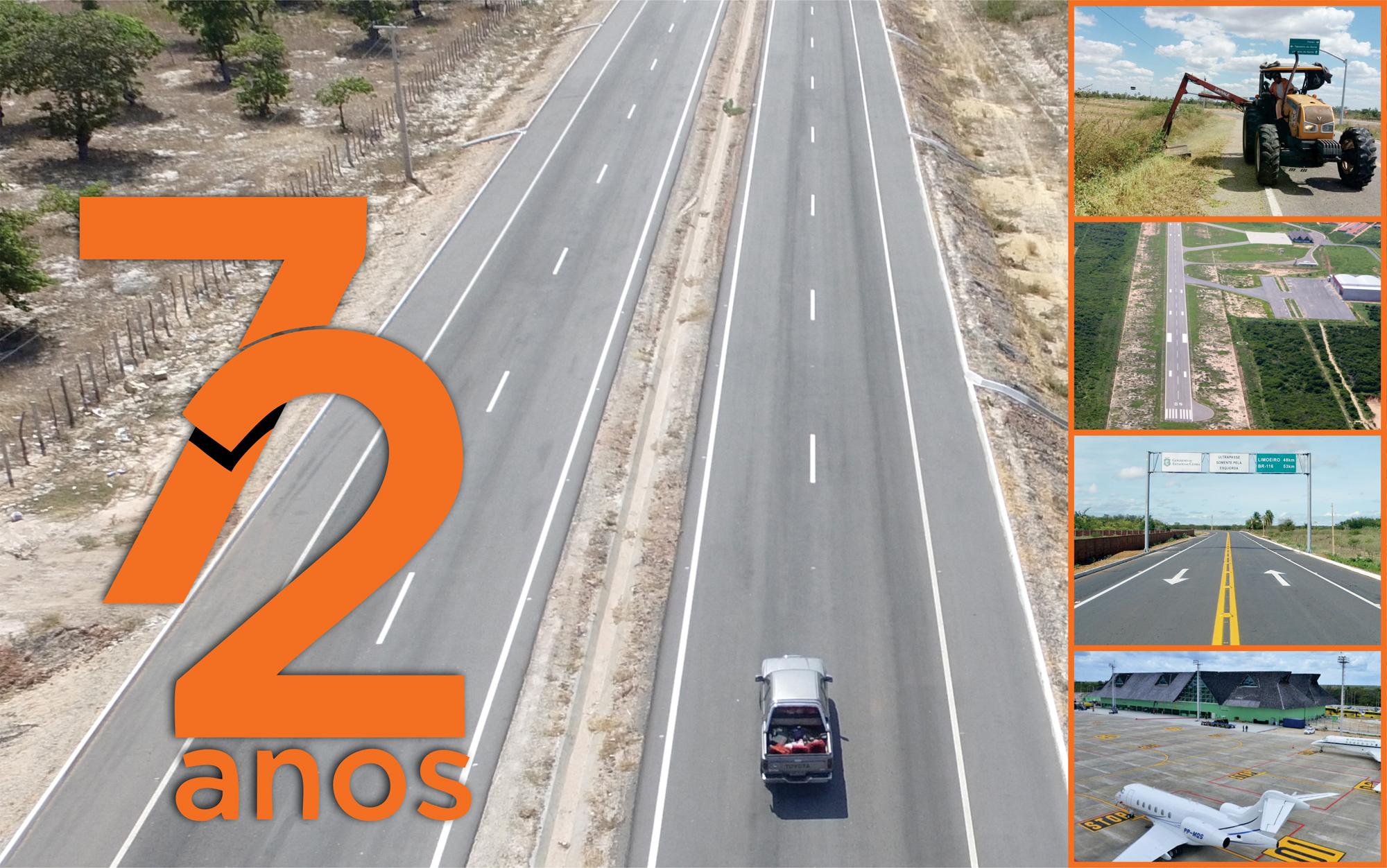 Departamento Estadual de Rodovias completa 72 anos
