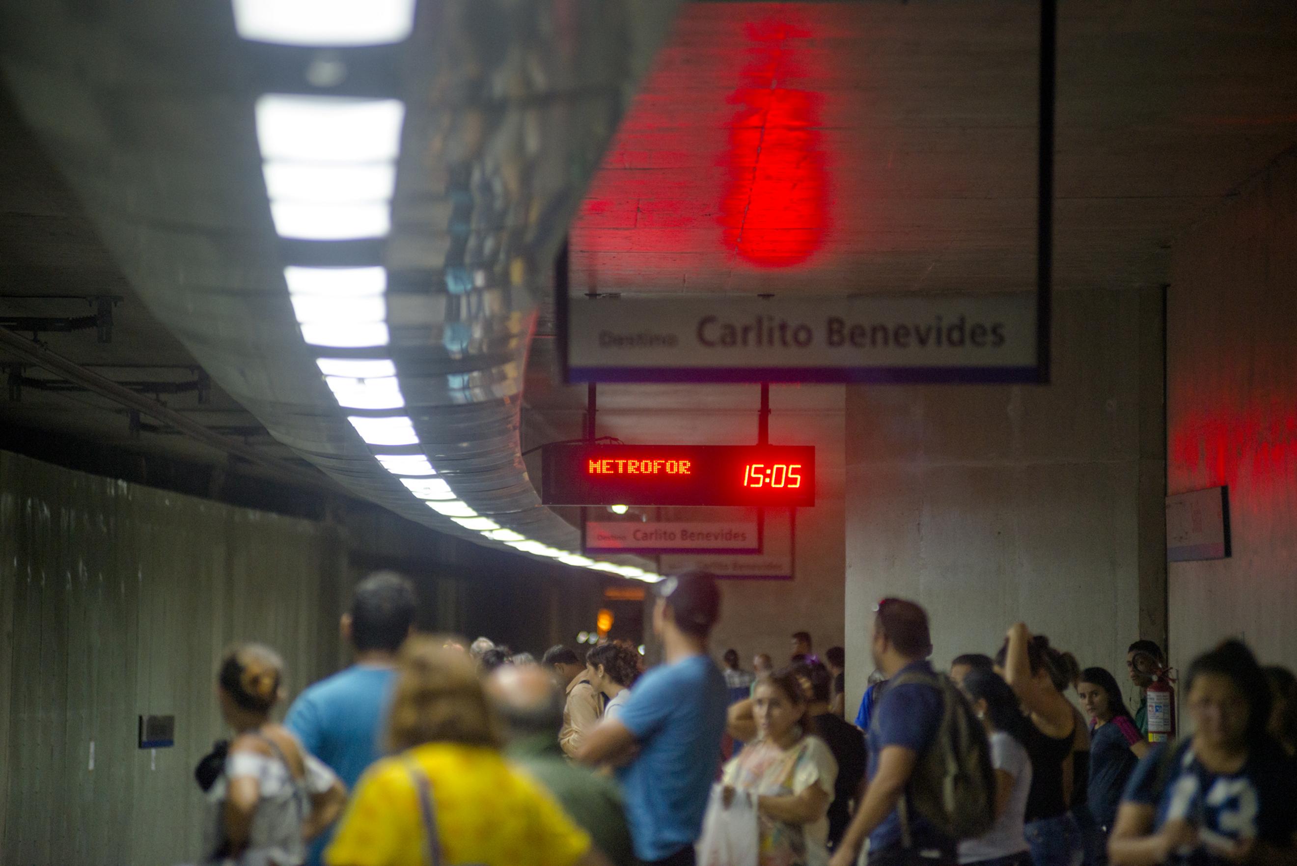 Metrofor convoca empresas para exploração de máquinas de vendas e espaços publicitários nas estações Benfica e Parangaba