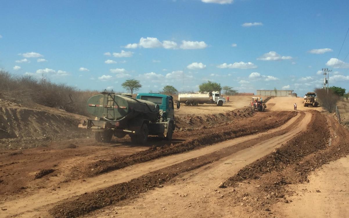 Governo do Ceará inicia implantação do trecho Quiterianópolis – Parambu