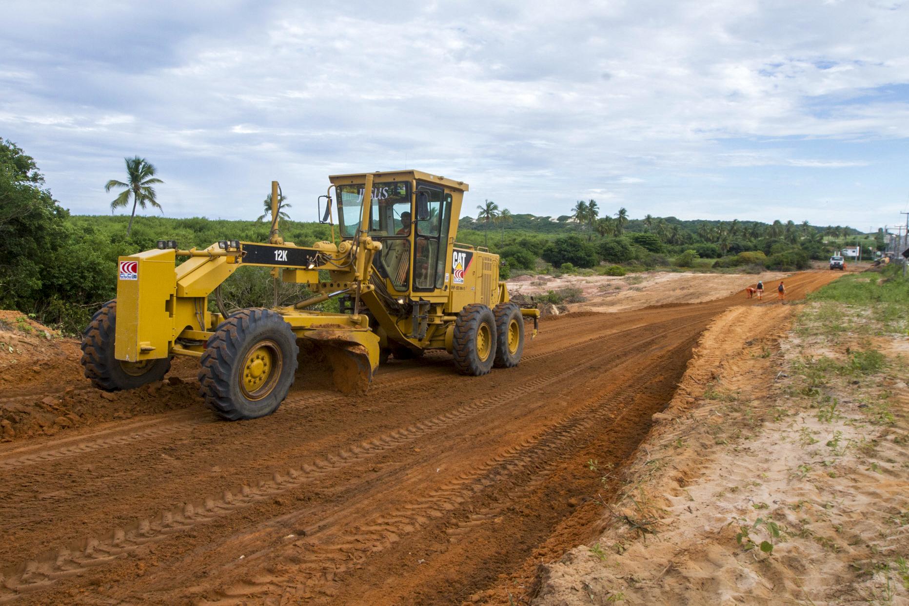 Obras de duplicação da Rodovia do Porto das Dunas (CE-025) são iniciadas