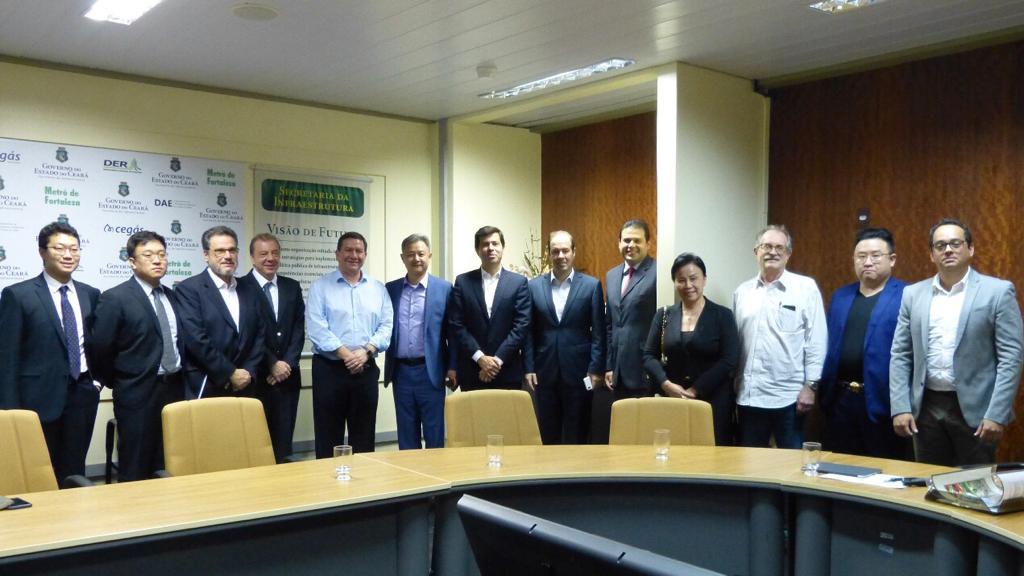 Seinfra apresenta projetos de infraestrutura a investidores chineses