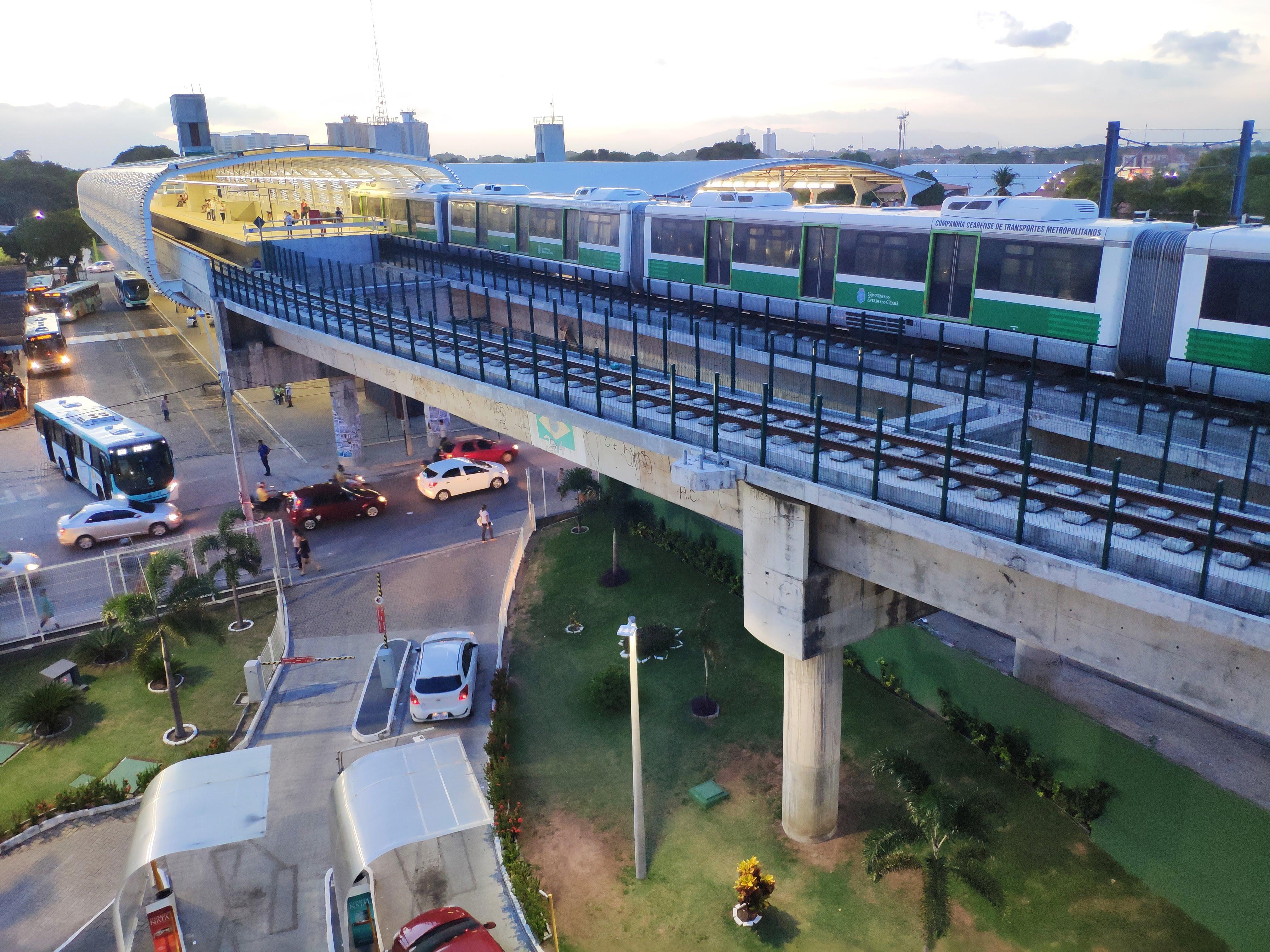 Ceará é um dos três estados que puxam crescimento nacional do setor metroferroviário