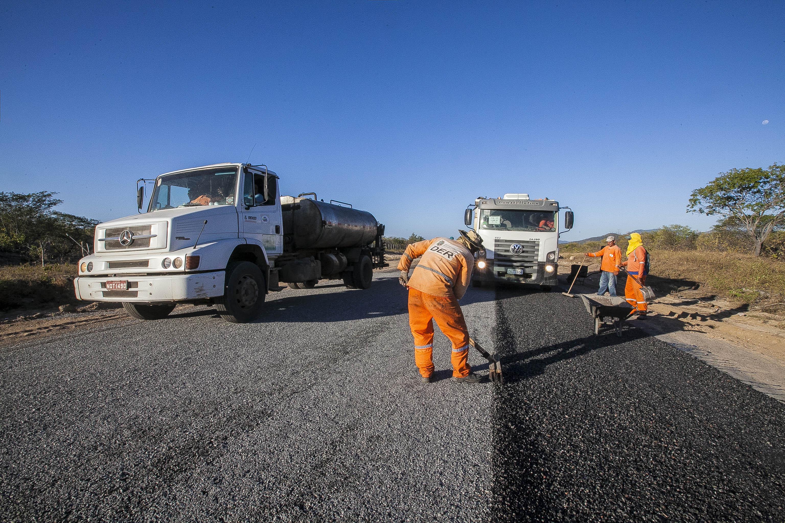 Com investimento de R$ 153 milhões, Governo inicia em julho a recuperação de mais de 1.640 km de estradas
