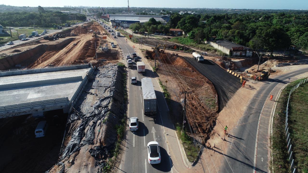 Obras de duplicação do Anel Viário serão concluídas até o final de 2019