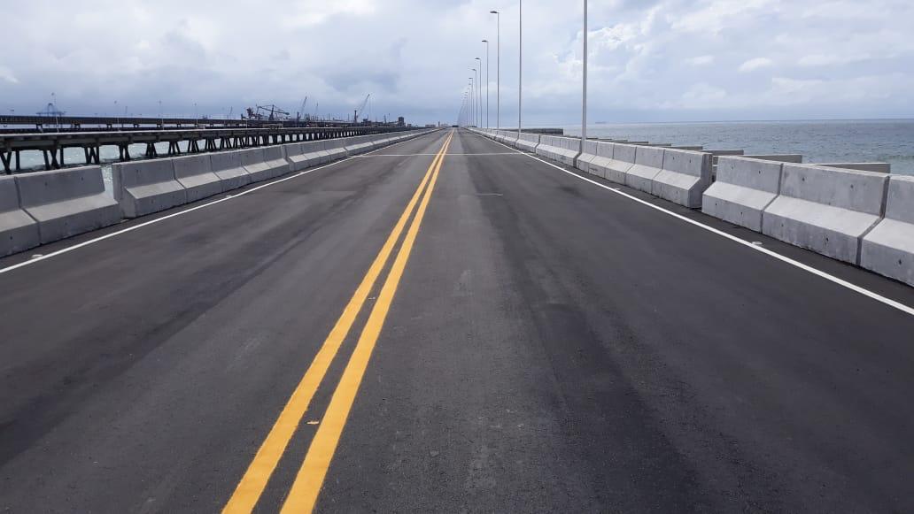 Nova ponte do Porto do Pecém é concluída