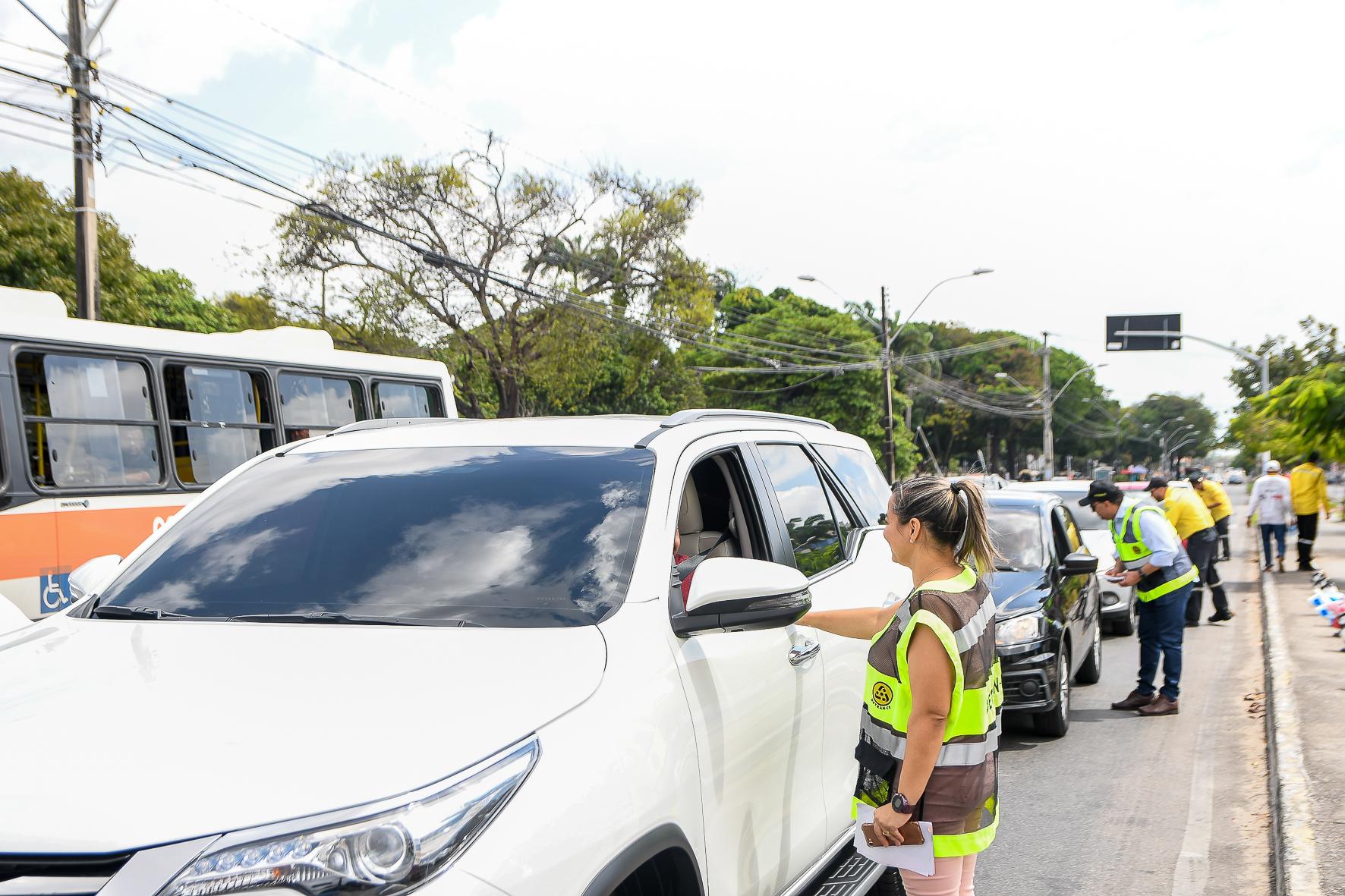 Detran-CE realiza abertura da Semana Nacional de Trânsito com ações na capital e interior