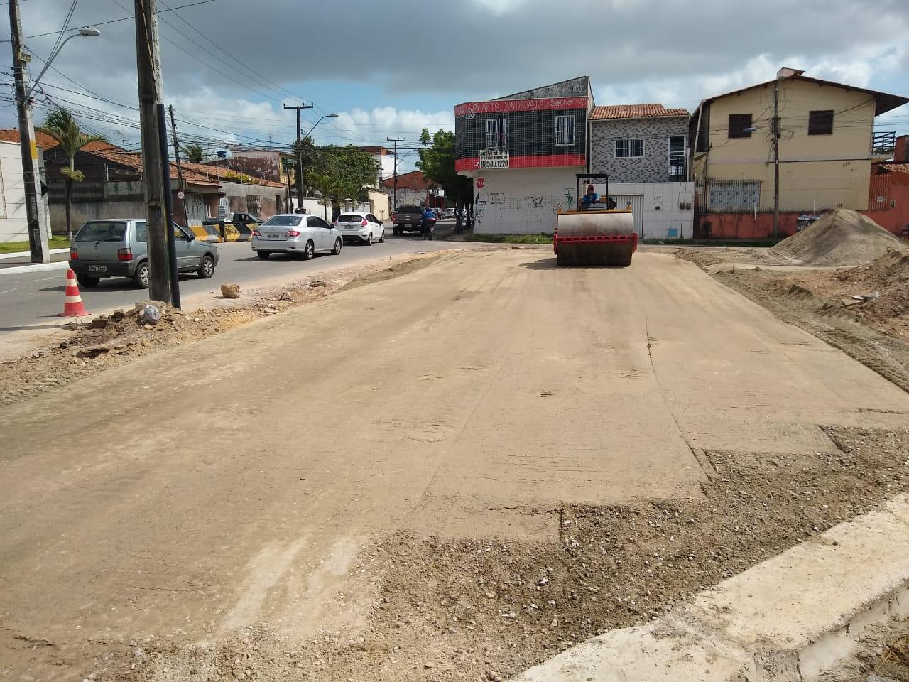 Seinfra realiza melhorias viárias no entorno da Estação Montese do VLT