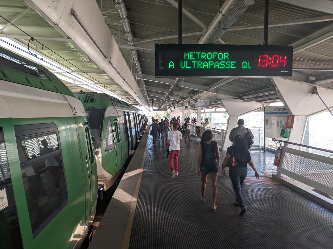 Transporte por meio de metrô e VLTs cresce 26% em 2019
