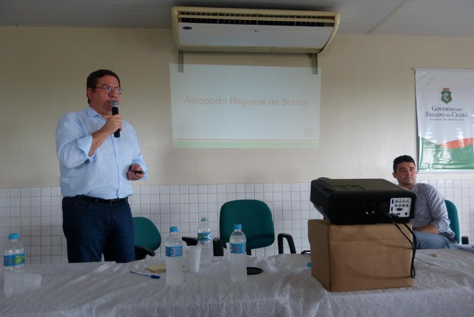 Projeto do Aeroporto Regional de Sobral é apresentado em audiência pública