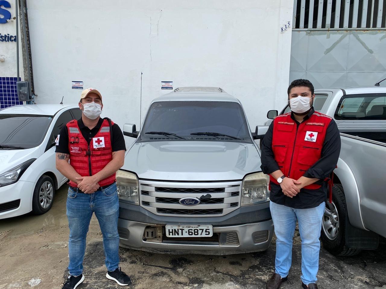 CEGÁS faz parceria com a Cruz Vermelha para ações de combate ao coronavírus