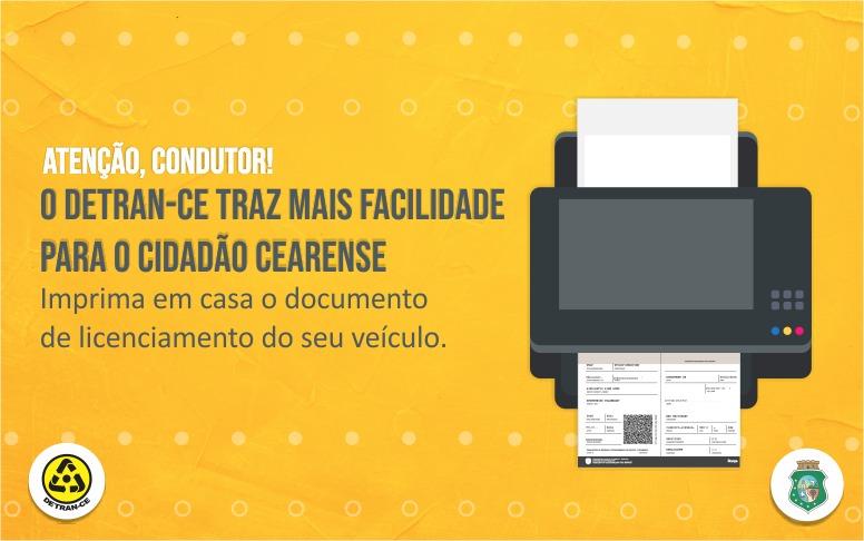 Documento do veículo é 100% digital e pode ser impresso em casa