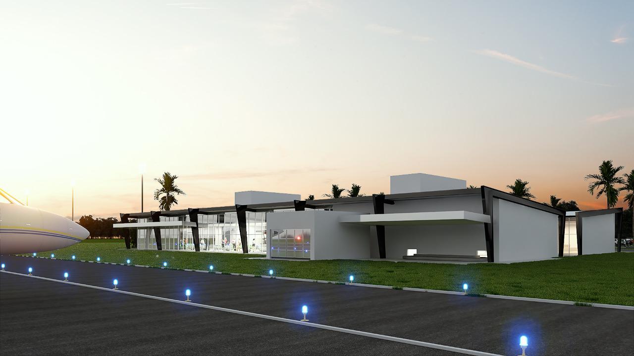 Seinfra divulga vencedor da licitação para construção do Terminal de Passageiros do Novo Aeroporto Regional de Sobral