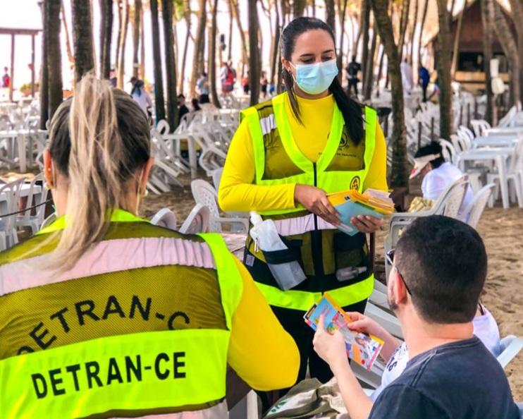 Detran-CE divulga balanço de ações realizadas durante a Semana Nacional de Trânsito