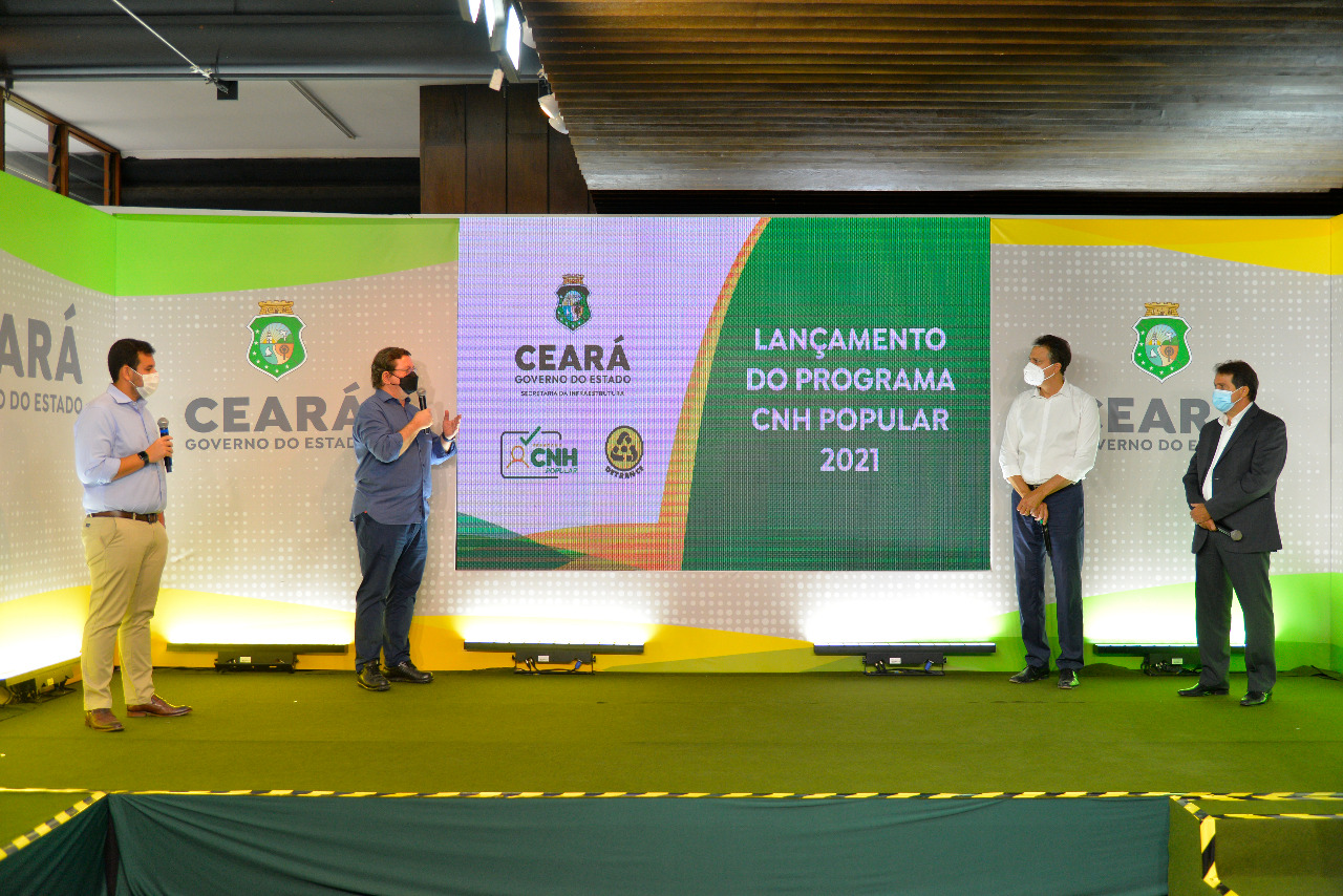 25 mil pessoas do Ceará poderão obter primeira habilitação por meio do programa CNH Popular